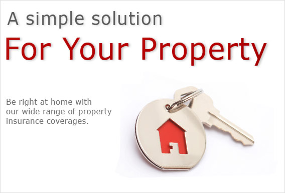A simple solution for your property. Be right at home with our wide range of property insurance coverages.